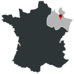 carte France Luxembourg
